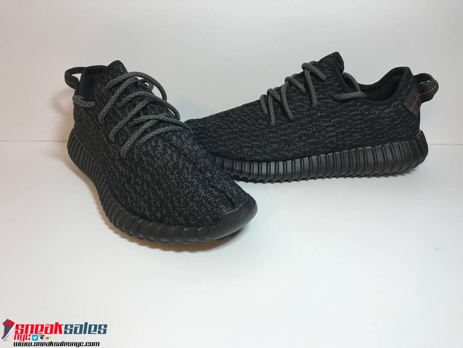 Adidas Kanye West Yeezy 350 Pirate Black V1 2.0 BB5350 Size US 9   EU 42 b4b11f62d3