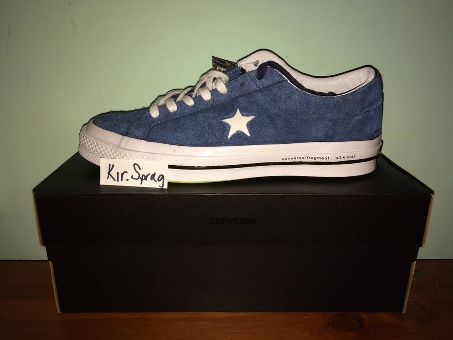 8c982b618ae817 Converse Fragment One Star Navy Size 8 - for Sale - Grailed