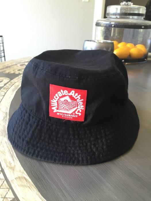 Milkcrate Athletics Classic Logo Bucket Hat Black Size one size ... 0c1b4fb21b36