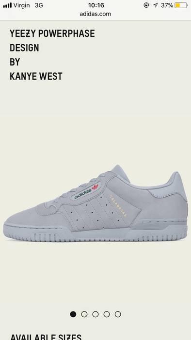 18bb7b34fb2a Yeezy Power phase Size 11.5( Bape Supreme Palace Gucci Lv Saint Canada Rick  Moncler Stone Island Nike Adidas Cp
