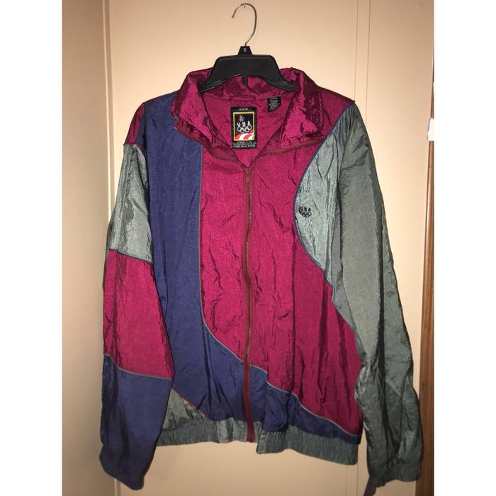 Jcp Vintage Olympic Windbreaker Size l - Light Jackets for Sale ... 9a7664570