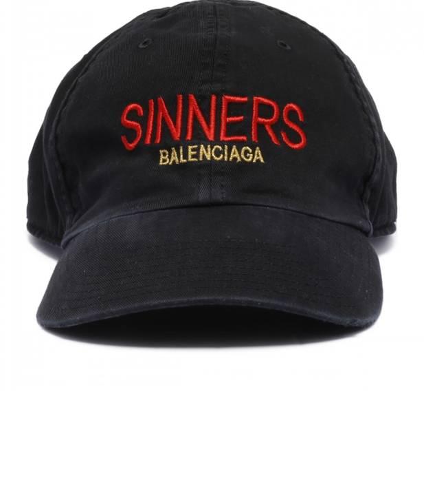 5fbcd59c3f1 Balenciaga Sinners Balenciaga Logo Embroidered Baseball Cap Size ONE SIZE