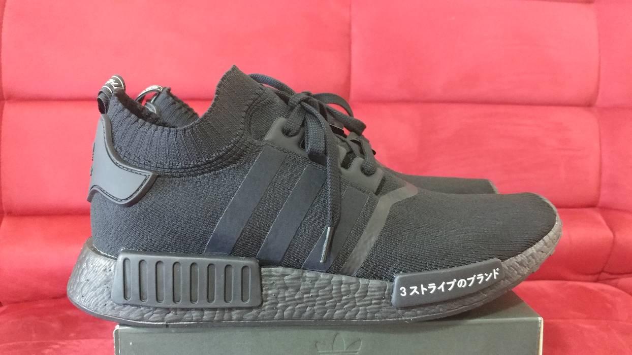 e38f7f06bd9153 Adidas Adidas PK NMD R1 Japan Triple Black Size US 12   EU 45 - 2