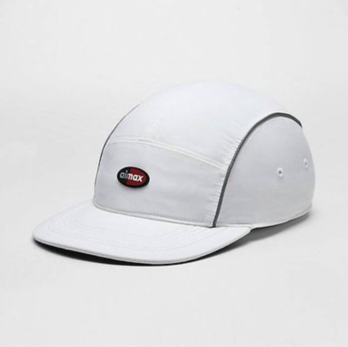 Supreme NEW Supreme X Nike Air Max 5-Panel White Cap Size one size ... a7d5a555f