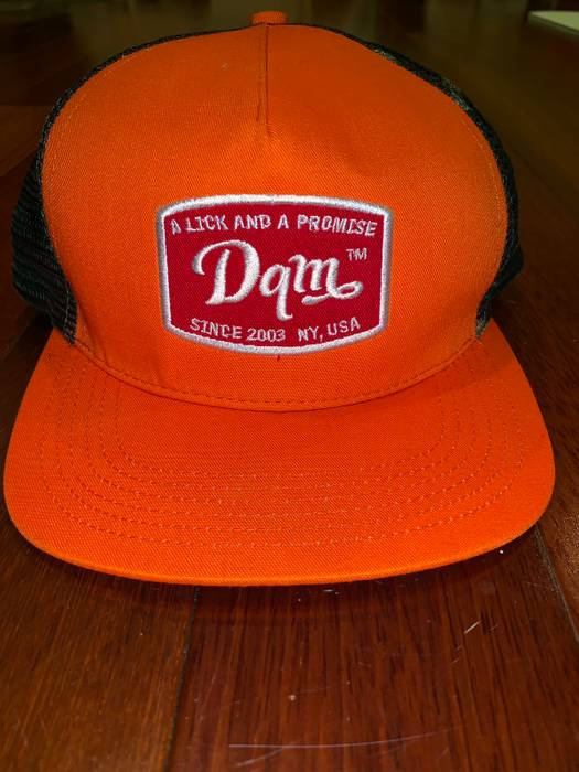 Dqm DQM Daves Quality Meats Vintage Trucker Hat Pre-Owned Size one ... 0df100a0b1e