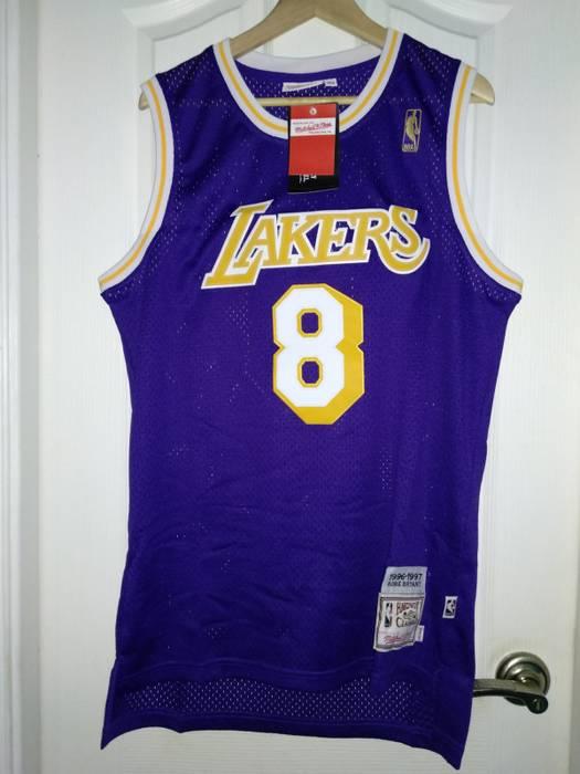 9320e94a4ac6 Adidas NBA Lakers Kobe Bryant Hardwood Classic Jersey  8 Size m ...