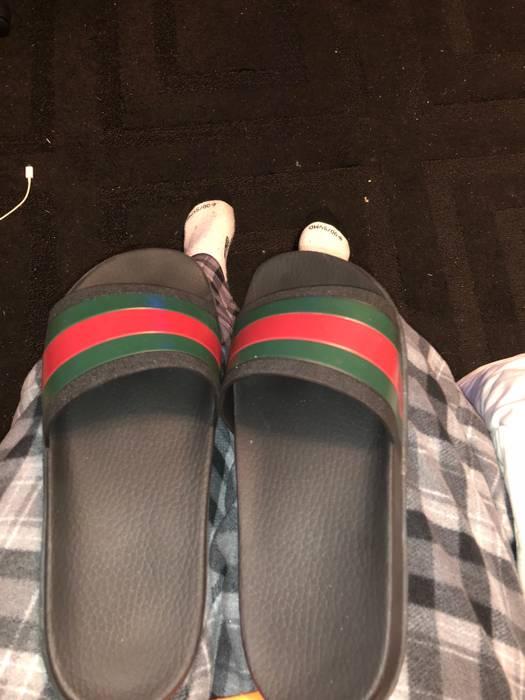 dded9d342f7d35 Gucci Gucci Trek Flip Flops Size 10 - Sandals for Sale - Grailed