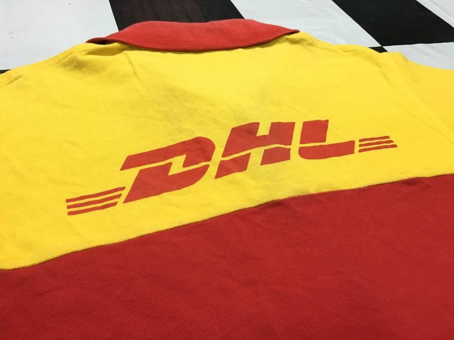 Dhl Vintage Dhl Polo Shirt Dhl Shipping Uniform Dhl Express Size M