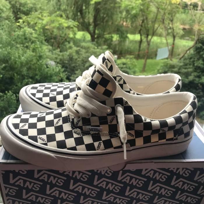 8ca7540dfa Vans. VANS Vault OG Era LX Checkerboard Black Size 11. Size  US 11   EU 44