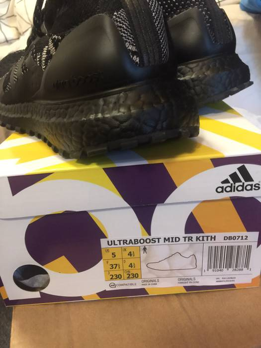 f1e5706ac28642 Adidas Ultraboost Mid TR Kith Size 6 - Low-Top Sneakers for Sale ...