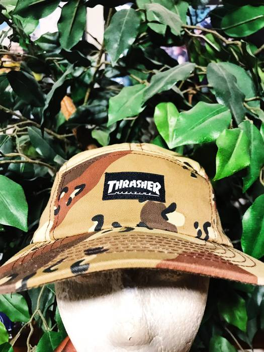 Thrasher Thrasher 5 Panel Camp Hat Size one size - Hats for Sale ... 998d7acc084