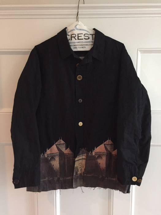Undercover Castle Jacket Aw12 Size M Light Jackets For Sale Grailed