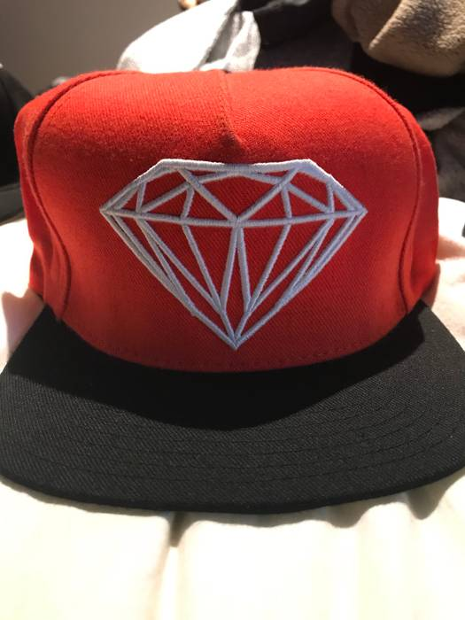 ... clearance diamond supply co red diamond snapback size one size 6c895  4b17a 0d88e710b5c