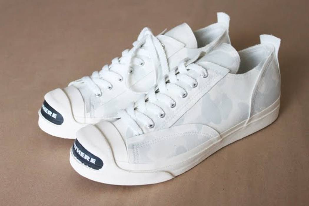 Undercover NOWHERE White Camo Sneakers Size 11 - Low-Top Sneakers ... 17961892c