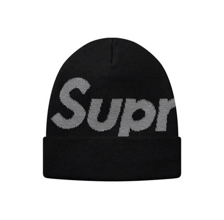 88bc1d359b7de Supreme Supreme Big Logo Reflective Beanie - Black Size one size ...