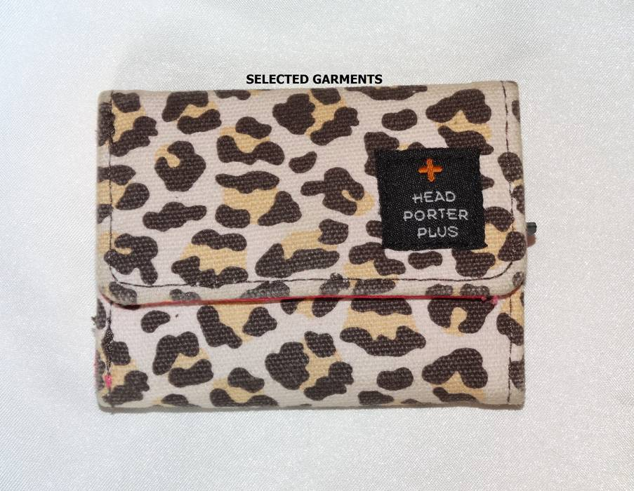 6ac8c58f0544 Head Porter Head porter PLUS wallet cards holder coins leopard pink ...