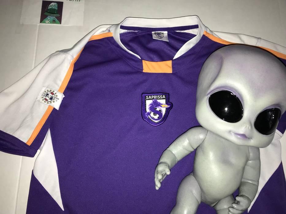 Vintage SAPRISSA FC Soccer Jersey Costa Rica Vintage Purple Size US M   EU  48- 43e2f8764
