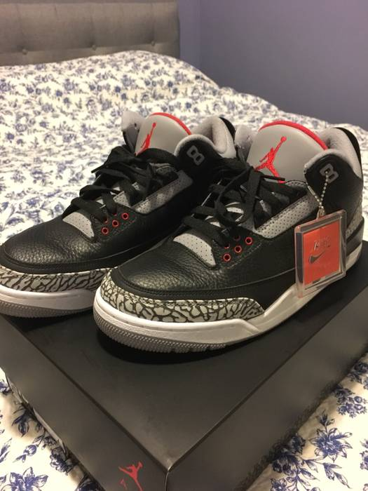 4bdfacb1f4351e Jordan Brand Air Jordan 3 Retro Black Cement 2018 Size US 10.5   EU 43-