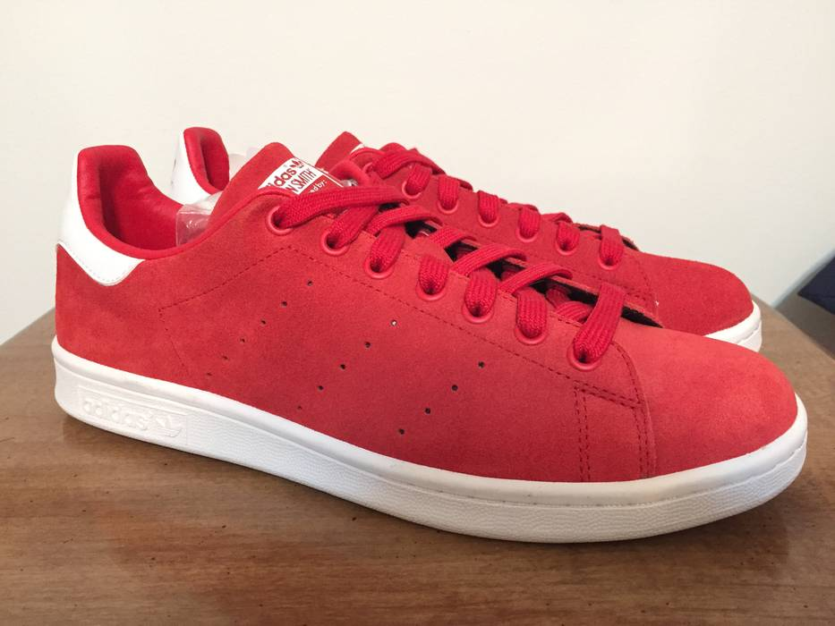 Adidas SAMPLE Stan Smith Red Suede Size 9 - Low-Top Sneakers for ... a3da7038e8a4