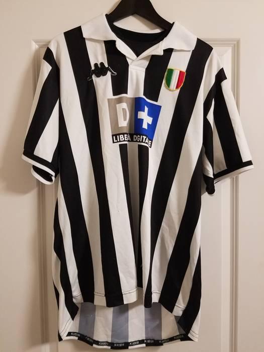 Kappa Kappa x Juventus Vintage Soccer Jersey Size l - Polos for Sale ... 51bec857b