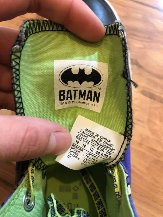 81f8fc118a61 Converse Haha Joker Batman Chuck Taylor All Star High Top Size US 12   EU 45