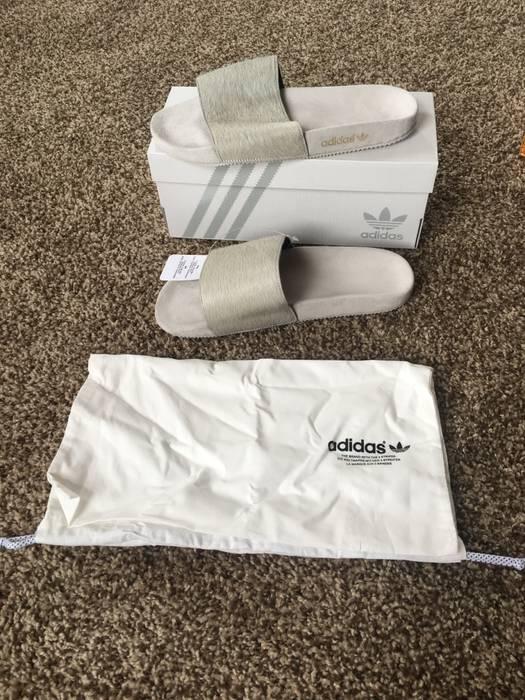 f95dcadc8e77 Adidas Mi Adilette Premium Ponyhair Slides Size 9 - Sandals for Sale ...