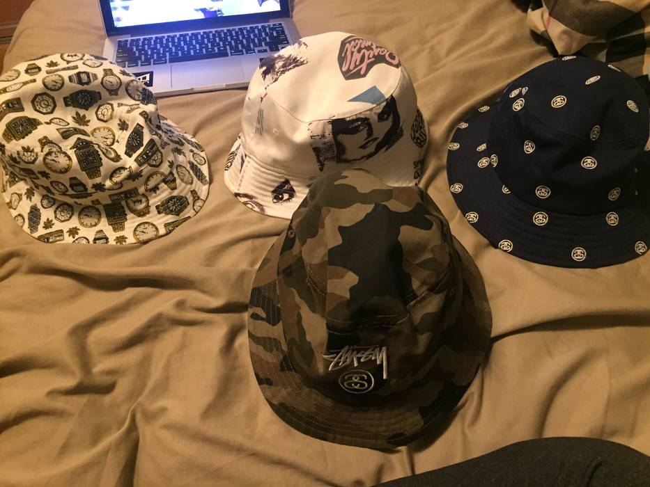 24fe28579b5 Stussy Stussy Bucket hat pack Size one size - Hats for Sale - Grailed