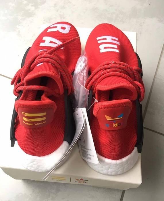 "Adidas Adidas Pharrell Williams NMD Human Race ""HU Race"" Red Size 12 Size US ba00c6c5cdb6"