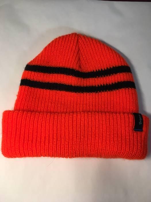 Brixton Exclusive Zumiez 100k Orange Beanie Size one size - Hats for ... e04de8ad92b