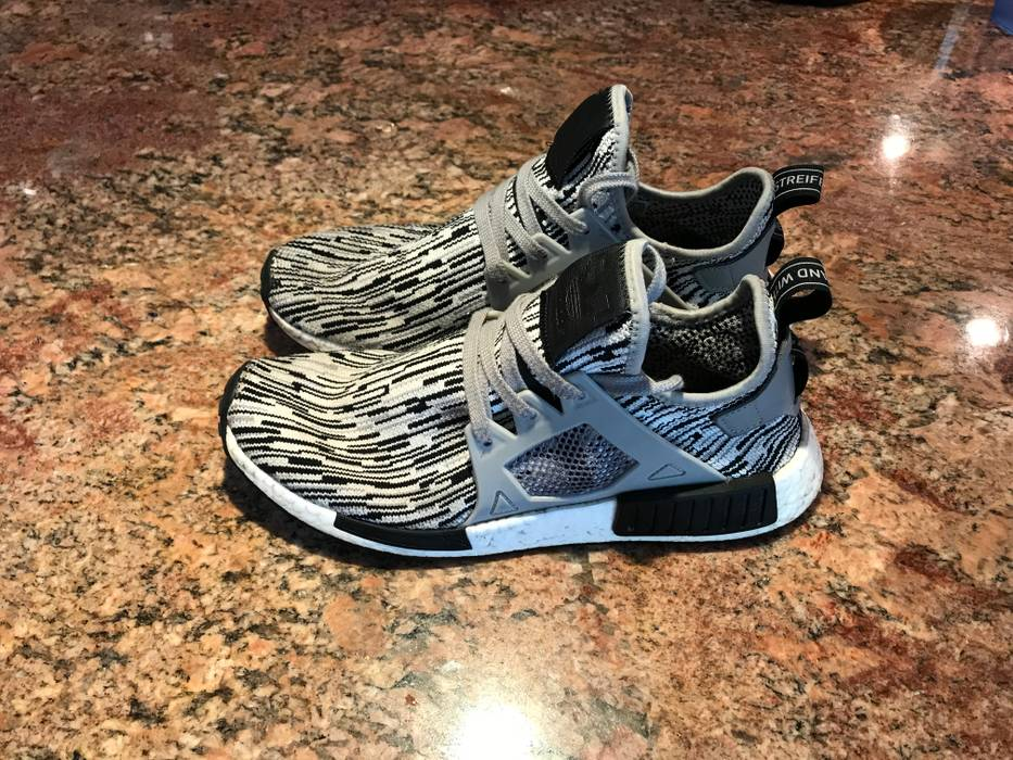 hot sale online c8cd8 f3248 Adidas. Adidas NMD XR1 Glitch Camo Oreo