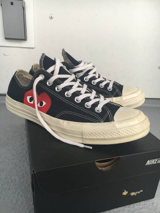 d753490e9dfa Converse Comme Des Garcons CDG Play Converse Chuck Taylor All Star  70 Low ( Black