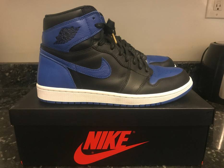 038c045029b470 Nike 2017 Nike Air Jordan 1 Retro High OG Royal Blue Sz 11.5
