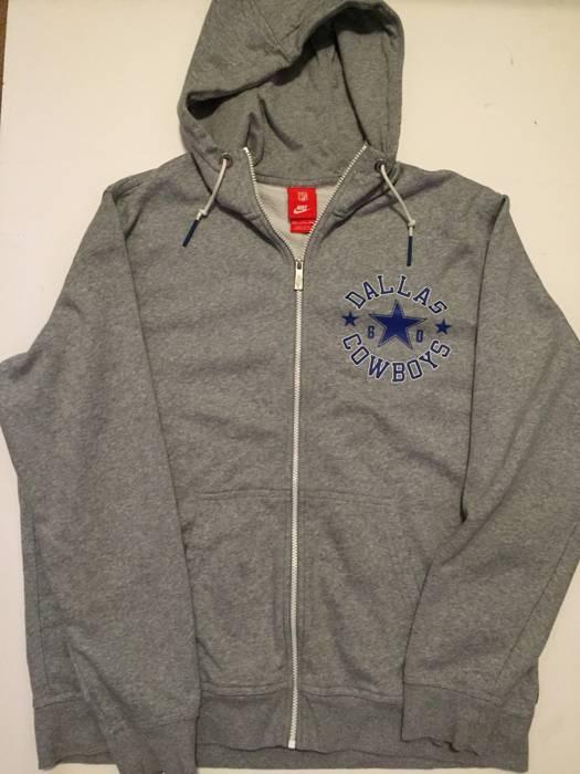 Nfl Nike NFL Dallas Cowboys Zip Hoodie Jacket Size xxl - Sweatshirts ... 0352ffa9d