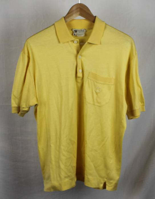 ae0f50341ac Gucci Vintage Gucci Polo Yellow Sz M Size m - Polos for Sale - Grailed