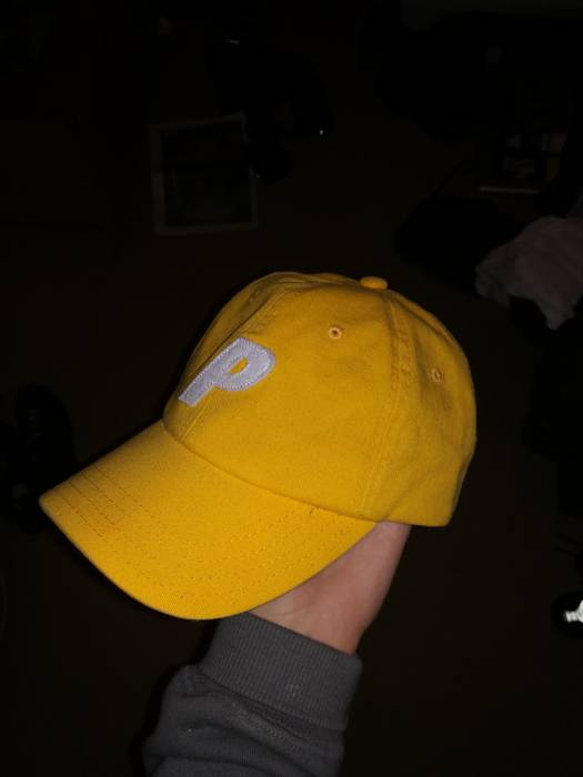 b96c1e7d173 Palace Palace 6 Panel P Cap Yellow Size one size - Hats for Sale ...