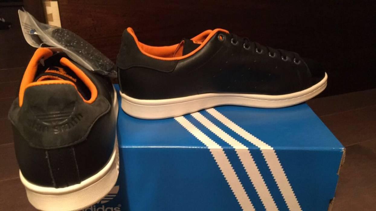 10261b710afb Adidas Porter x Adidas Stan Smith 80th Anniversary Black Orange Leather Low  Top Size US