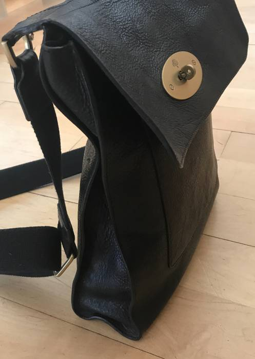 Mulberry The Antony Classic Unisex Messenger bag in black Size ONE SIZE - 8 fe4398c72382a