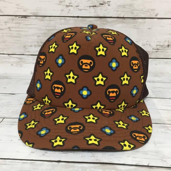 Bape Vintage Baby Milo Trucker Cap Size one size - Hats for Sale ... 6c487564045