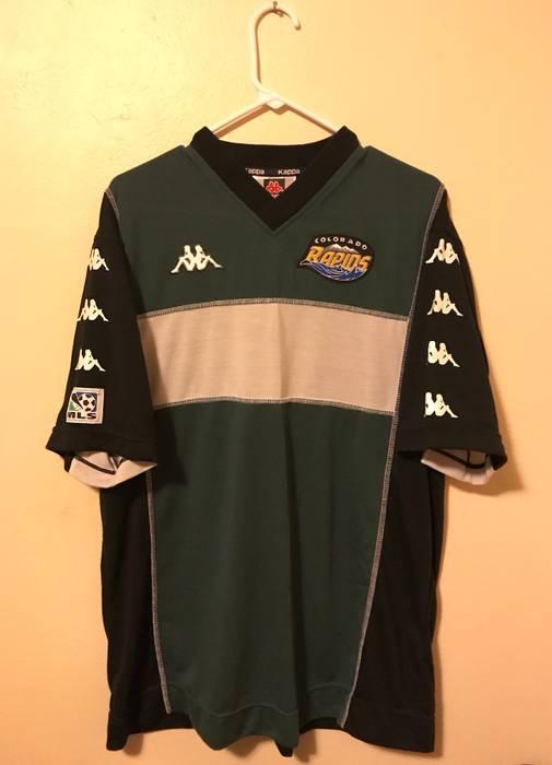 Kappa Vintage Kappa Colorado Rapids Esc Jersey Size l - Short Sleeve ... 4e811f3c7
