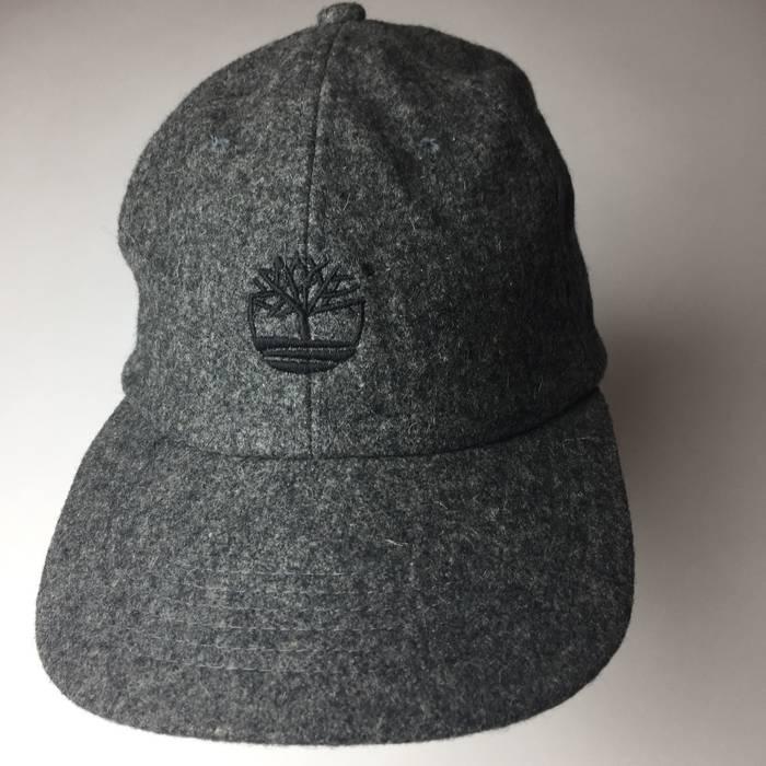 16c4f22ff9a Timberland. VIntage Timberland Logo Wool Strap Back Hat Cap Weathergear Gray