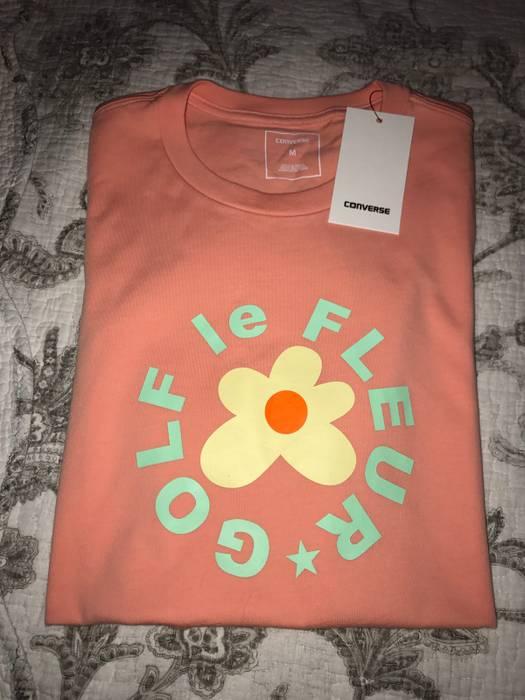 b9e62bab65b036 Converse Golf Le Fleur X Converse T-shirt Pink Size m - Short Sleeve ...