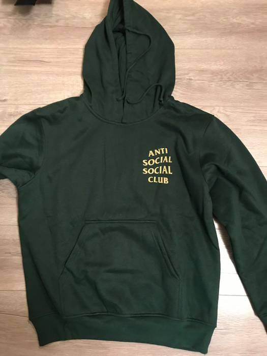 9b935d49bbd5 Antisocial Social Club ASSC Redeem Forest Green Hoodie Size m ...