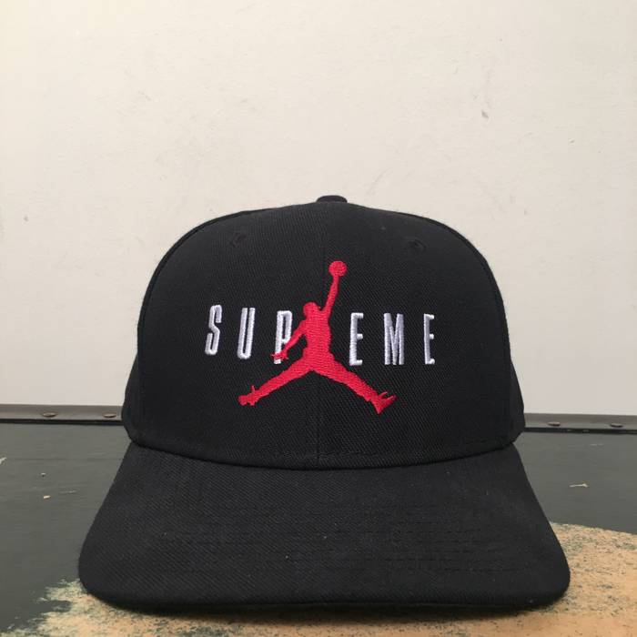 Supreme FW15 Supreme x Jordan Snapback Hat Size one size - Hats for ... 70333195828