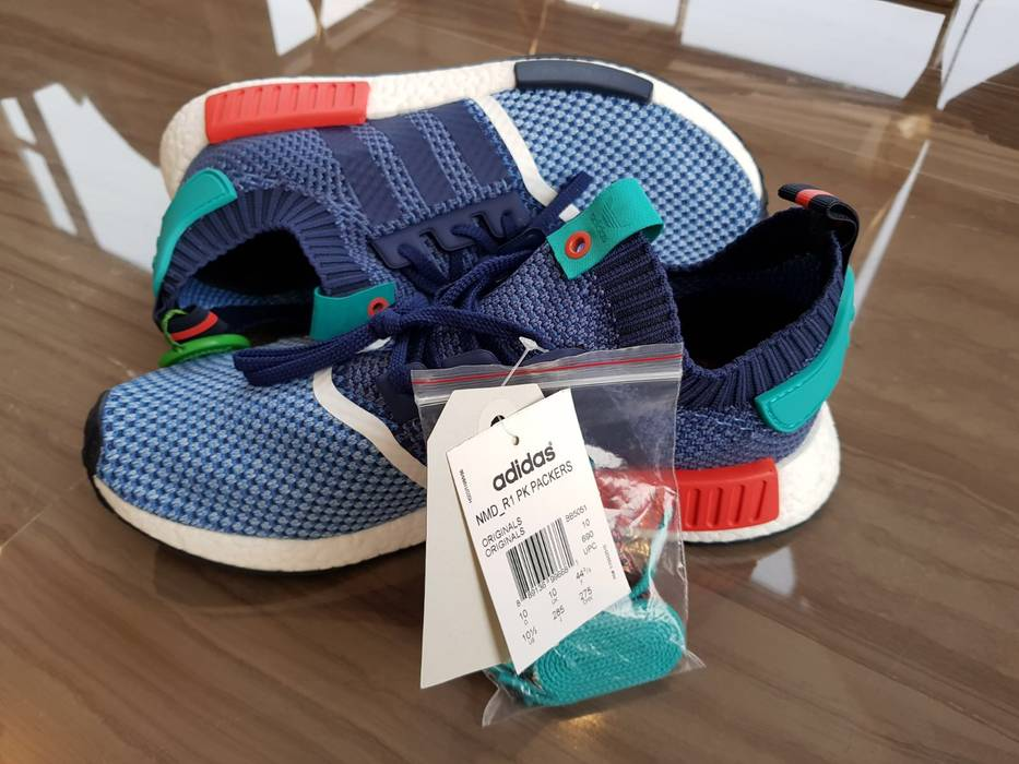 new concept befa2 3fb80 Adidas. Adidas NMD R1 PK Packer Shoes ...