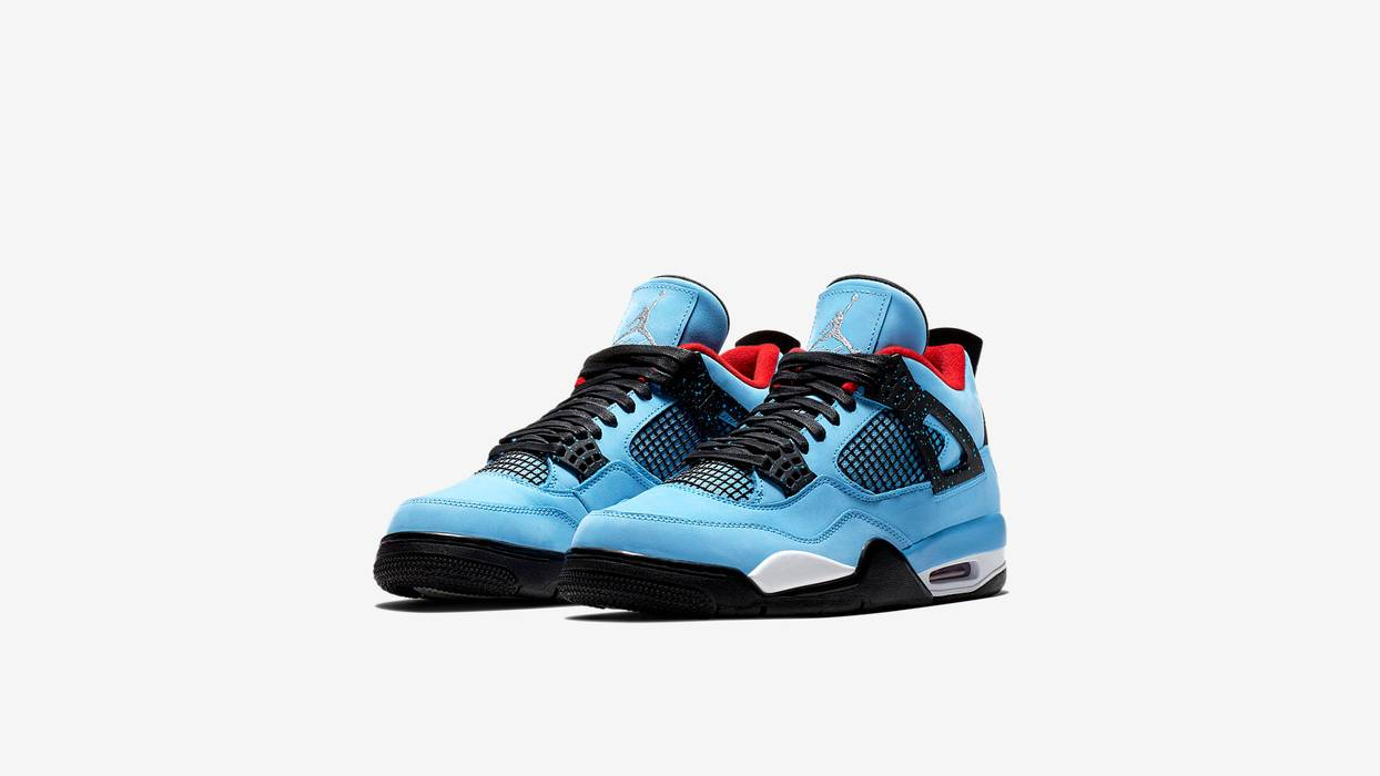 Nike Nike Air Jordan 4 Travis Scott Cactus Jack Size 15 - Low-Top ... 4a17d0bd8bfb