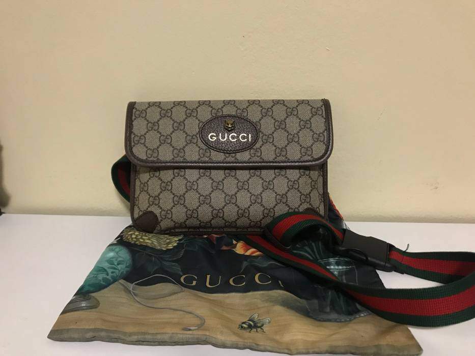 23906c1c951 Gucci Gucci GG Supreme Cat Belt Bag Size one size - Bags   Luggage ...