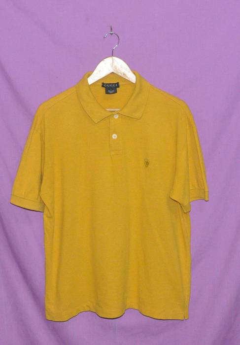 63552879f68 Gucci Vintage Gucci Polo Shirt Made in Italy Medium Size Size US M   EU 48