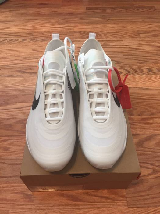 f9a7dde48a1037 Nike Off White x Nike 97s Size 10.5 - Low-Top Sneakers for Sale ...