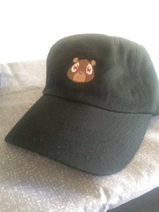 Kanye West Ye Bear Dad Hat Size one size - Hats for Sale - Grailed 80846851a63