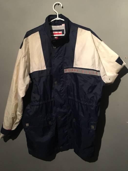 6a68303b46 Perry Ellis Crazy Rare Vintage Perry Ellis Jacket Size m - Light ...